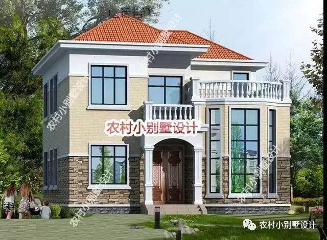 8张别墅自建农村,谁说农村人买不起还盖不起!是房价别墅钱府多少宁波东海图片