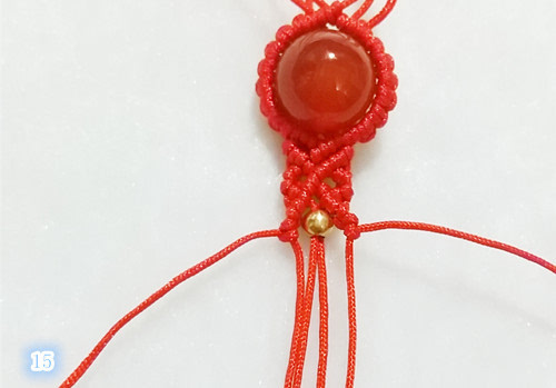 复古创意玛瑙手链编法图解, 能做出来你绝对是大神