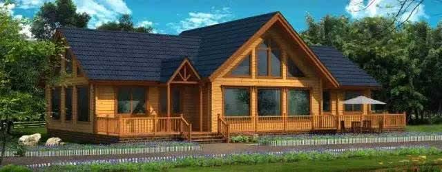 中的木屋一般都是这样: 静静的伫立在那里, 与树木,鸟儿为伴, 与山野