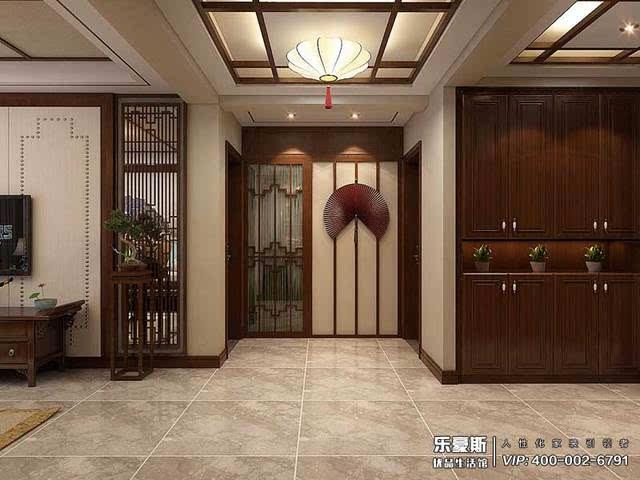 盛世御城新中式风格厨房装修效果图
