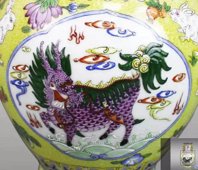 乾隆皇帝属兔,藏品上的六只兔,表达对乾隆皇帝的祝福,六六大顺,事事如