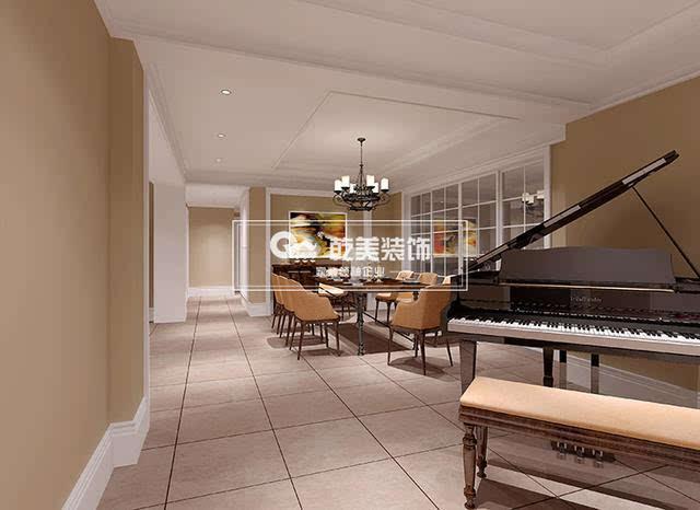 入户过道钢琴区装修设计效果图片