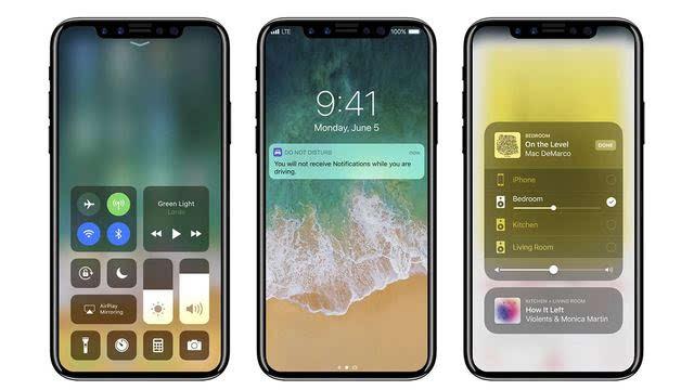 iphone8还可能加入ar侧面指纹面部识别等黑科技玩法