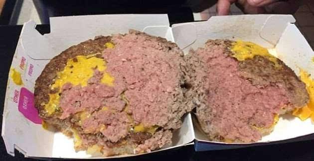 麦当劳汉堡惊现蛆虫?麦当劳食品问题真多