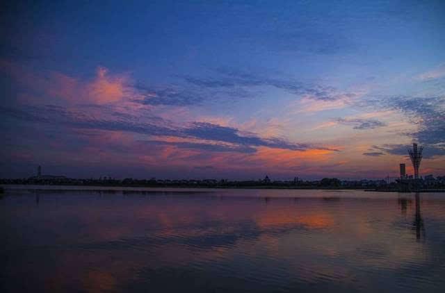 在海安,有一种流连忘返叫七星湖.