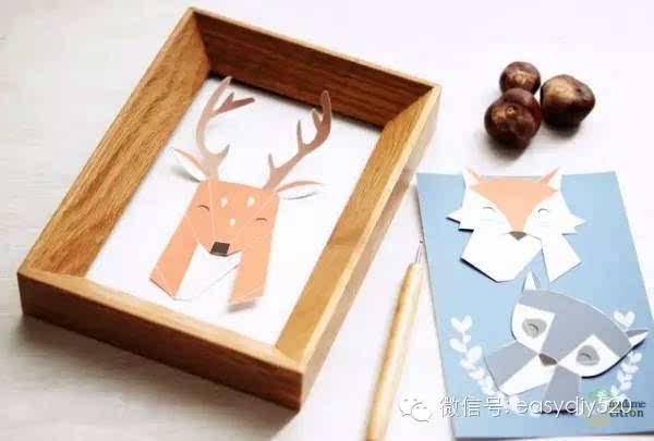 【手工】幼儿园立体创意手工折纸,惊呆了!