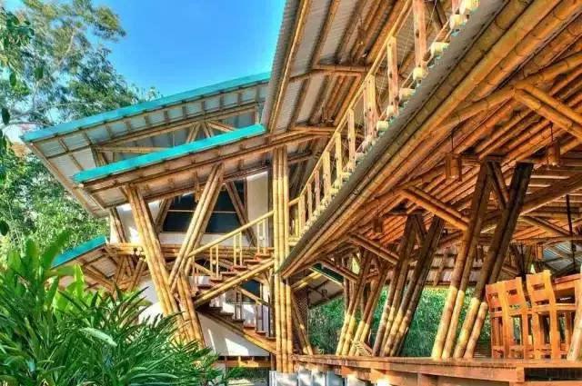哥斯达黎加的竹子别墅