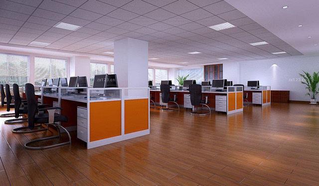 办公室装修五大实木地板选购要诀图片