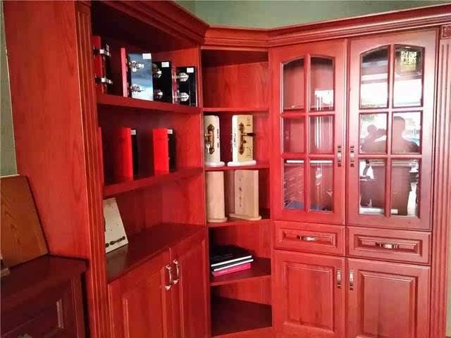 红橡实木衣柜内部结构