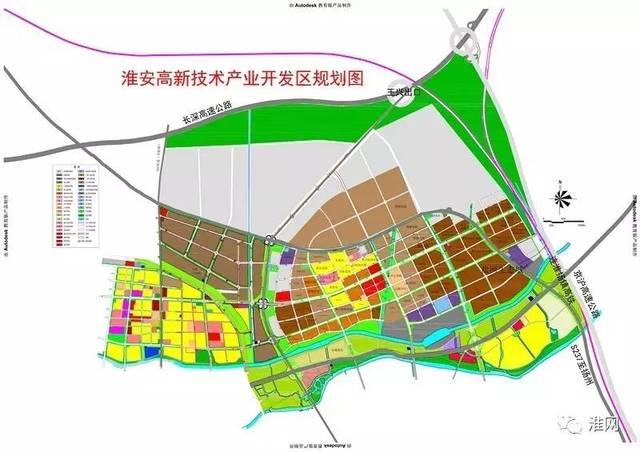 淮安高新技术产业开发区新的规划图来啦!
