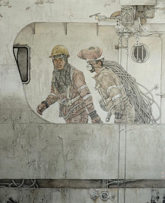 著名工笔画家桑建国人物画欣赏