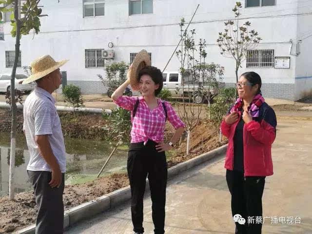 中国中央电视台主持人海霞亲临新蔡来体验!