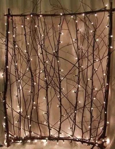 干枯的树枝捡回家,竟然让家美成这样