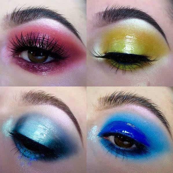 有一种惊艳,叫做创意妆!-时尚频道-手机搜狐图片