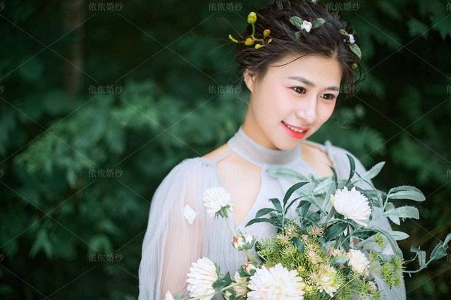 韩式新娘发型怎么打造--东海婚纱照图片