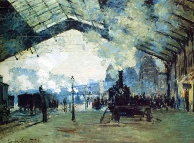 《圣拉扎尔火车站》系列