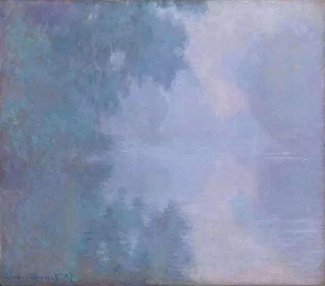 《早晨的塞纳河》系列
