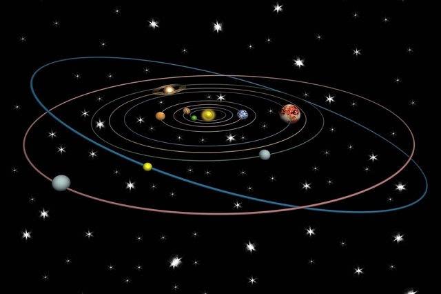 它将取代冥王星成为太阳系第九大行星——幸神星图片