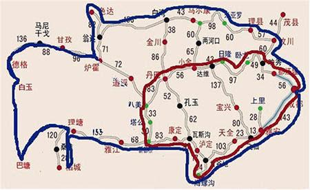 17年川西环线自驾游要多少钱?具体行程