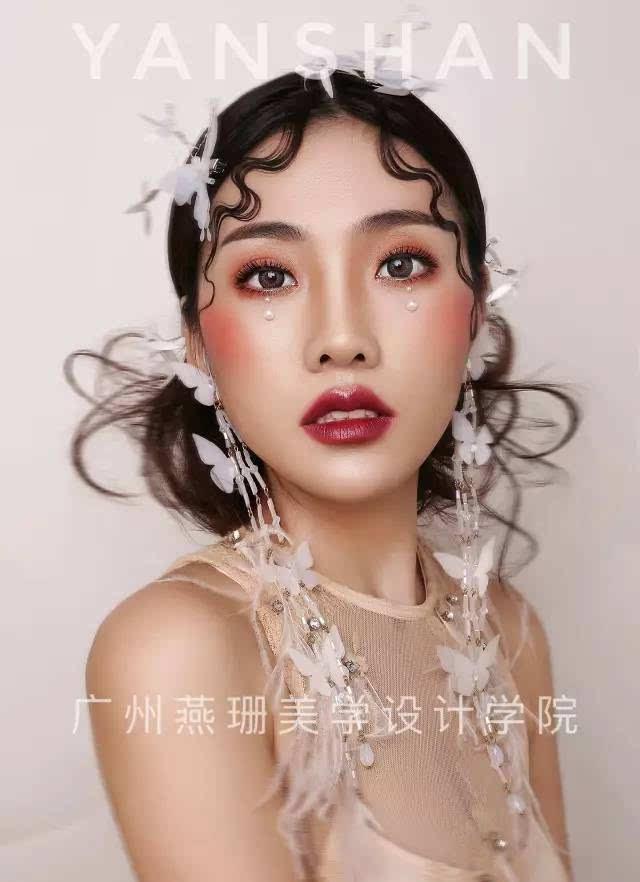 【直播预告】方形脸新娘化妆矫正技巧(妆面+发型新娘造型),开始报名了