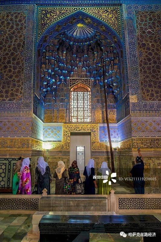 【中亚五国】伊斯兰建筑典范 在乌兹别克斯坦看蓝色穹顶之美