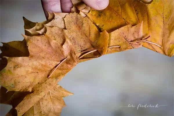 【环创】100种幼儿园秋季创意手工+主题环创+树叶粘贴