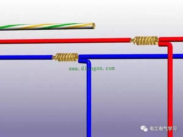 处理起来是很简单,电线打火与短路是因 为没有正确的接线头造成的
