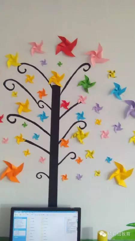 【环创】100款幼儿园走廊创意吊饰 主题墙布置,非常实用!图片