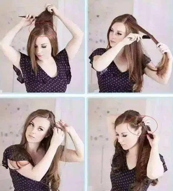 中餐厅热播, 播火了周冬雨的发型, 连热巴都模仿她, 减龄少女风图片