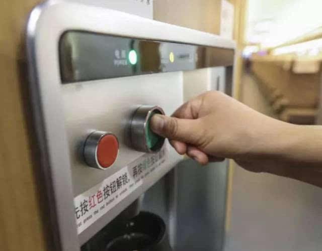 高铁二等座按钮图解