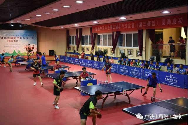 【谁是球王】中国中铁第二届职工乒乓球比赛(第三赛区