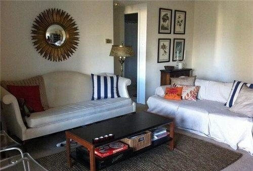 一室一厅小户型装修效果图 3万装修60平米工业风公寓