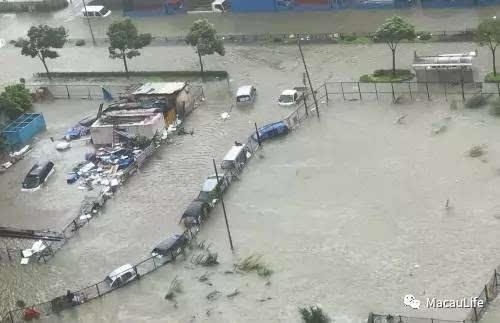 澳门「天鸽」台风之后,预计带走超过20人命!