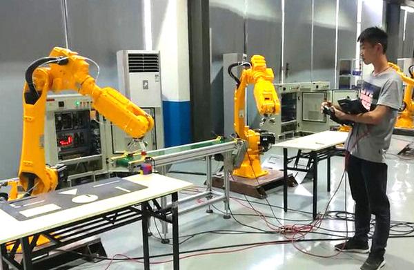 动力系统即工业机器人动作的驱动装置可分为液压传动方式,气动传动图片