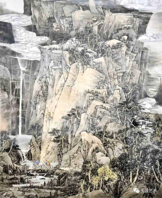 第九届中国体育美展全集|中国画【天涯艺术943期】图片