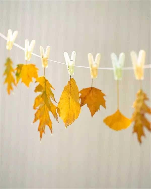 100种幼儿园秋季创意手工 主题环创 树叶粘贴画