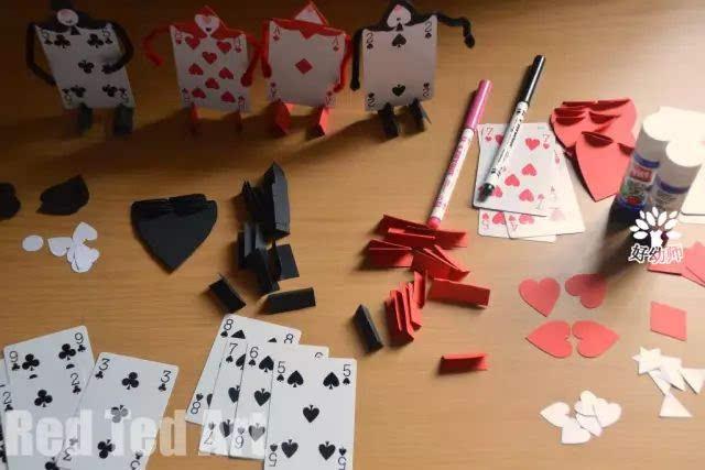 纸牌手工制作船