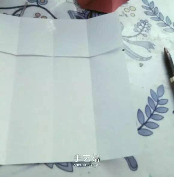 简单高脚杯的折法图解 折纸红酒杯的方法教程