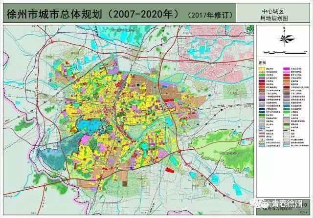 铜山区张集镇,开发区徐庄镇……这些地方都将属于徐州的中心城区啦!