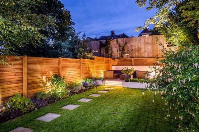 别墅里布好院子之后,在院子赏月想必是极好的繁华大道灯光图片