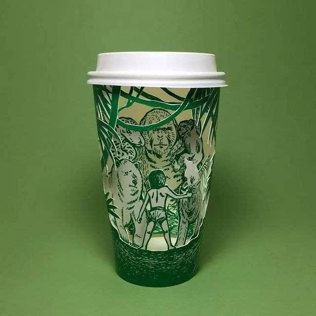 死侍被小丑绿了?国外大神手绘二次元星巴克杯子,给这创意跪了!