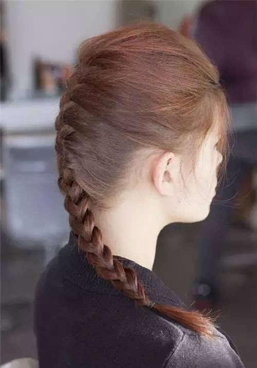 4种辫子编发,美过任何长头发!