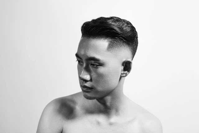 男士渐变发型图片