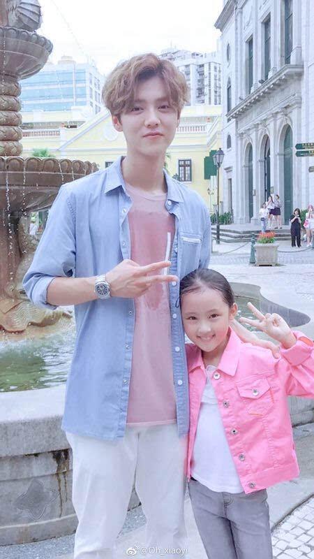 高哥哥妹妹_鹿晗,关晓彤的妹妹表示祝贺哥哥姐姐幸福