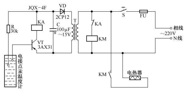 简易温度控制电路