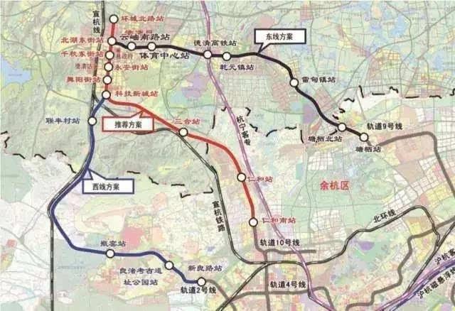 德清要连接杭州地铁10号线?快来看看经不经过你家门口!图片