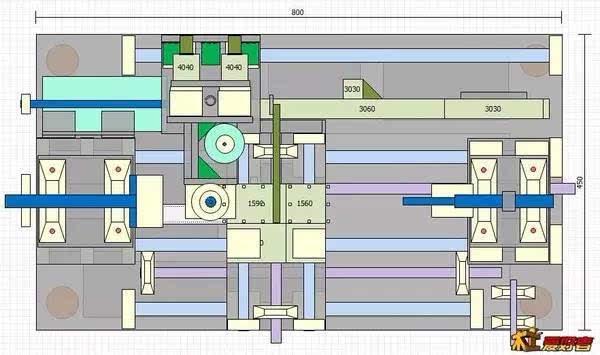 手机店平面图CAD