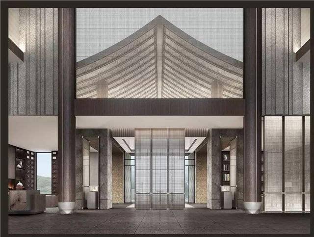 ccd新中式酒店设计方案实景概念参考资料度假禅意休闲图片