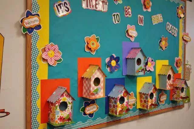 100种幼儿园秋季创意手工 主题环创 树叶粘贴画!
