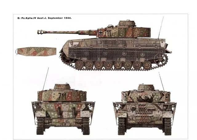 外国艺术固j?9?!_涂装的艺术,记二战主要装甲车辆涂装大全!
